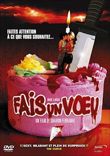 FAIS UN VŒU (MAKE A WISH aka LESBIAN PSYCHO) de Sahron Ferranti, Slasher lesbien