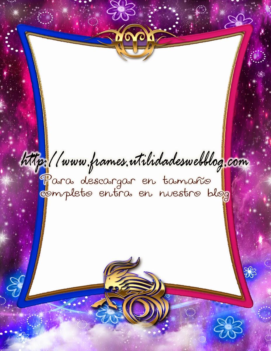 Marco para fotos del signo del zodiaco - Aries