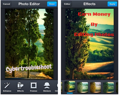 Earn Money By Editing Photos In Smart Phones