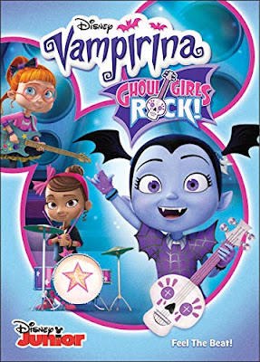 Vampirina Ghoul Girls Rock 2018 DVD R1 NTSC Latino