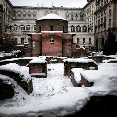 Sofia Snow Neve Bulgaria