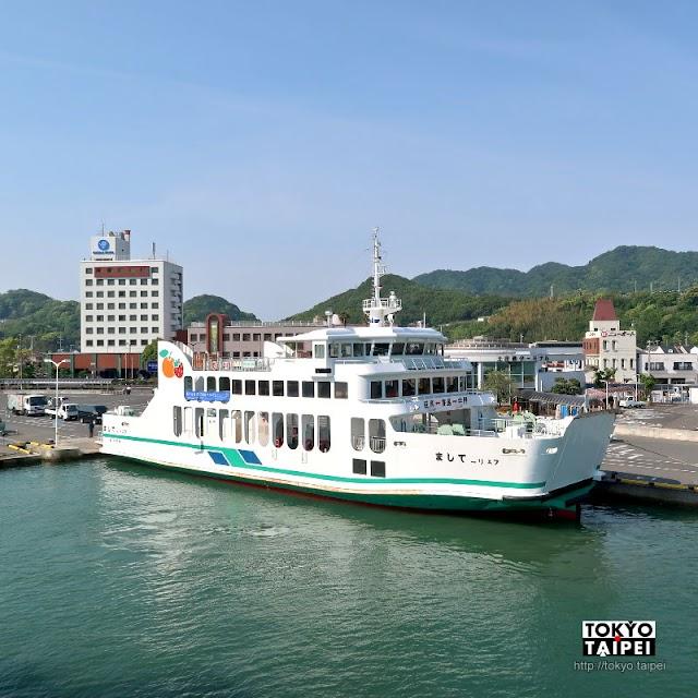 【土庄港】小豆島玄關 充滿藝術氣息與橄欖味的港口