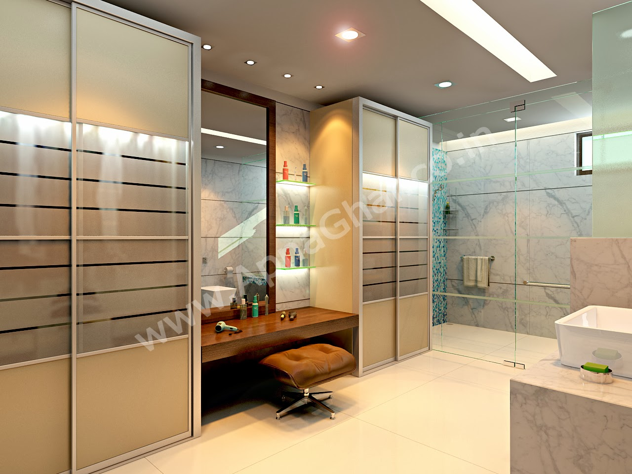 luxurious toilets interior design ideas | Bill House Plans