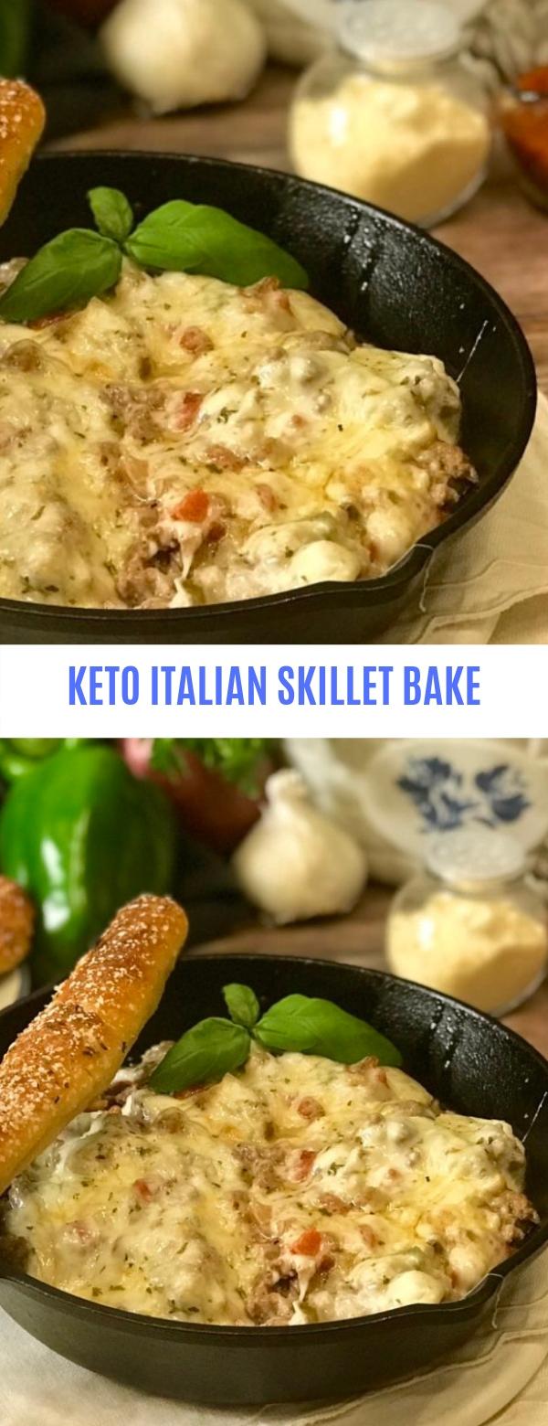 Keto Italian Skillet Bake