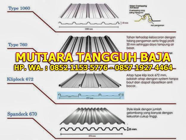 Distributor Atap Seng Spandek Murah Tapos Depok Paling Murah dan Berkualitas