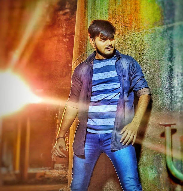 फिल्म 'राज तिलक' के ट्रेलर में साउथ स्टार की तरह दिखे अरविन्द अकेला कल्लू