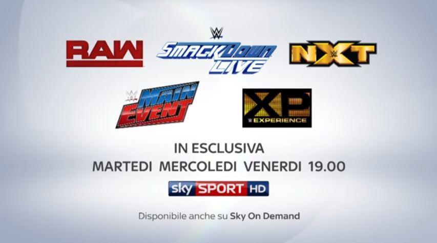 Canzone Sky pubblicità nuovo promo WWE - Musica spot Novembre 2016