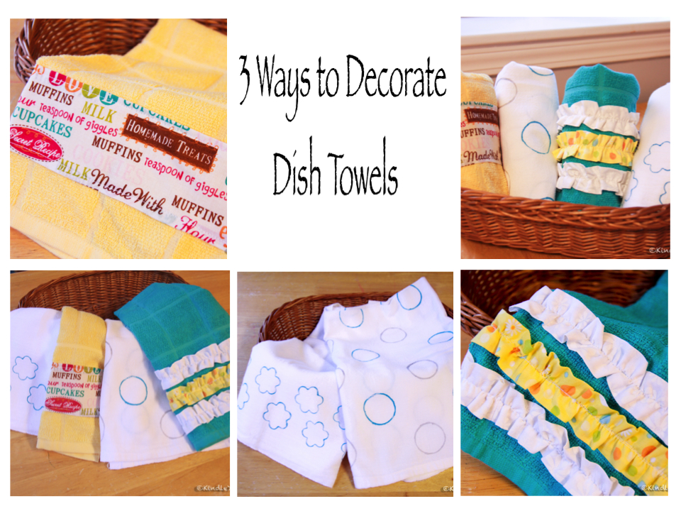 Kindle Your Creativity: 3 Easy Ways to Decorate Kitchen Towels
