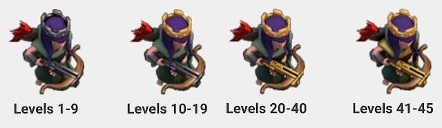 Perbedaan Archer Queen