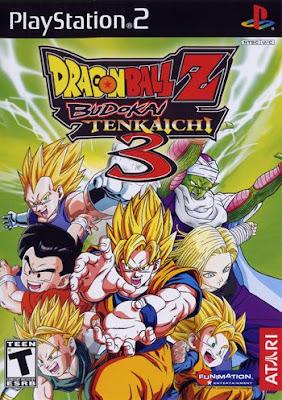 Dragon Ball Z Budokai Tenkaichi 3 PS2 GAME ISO