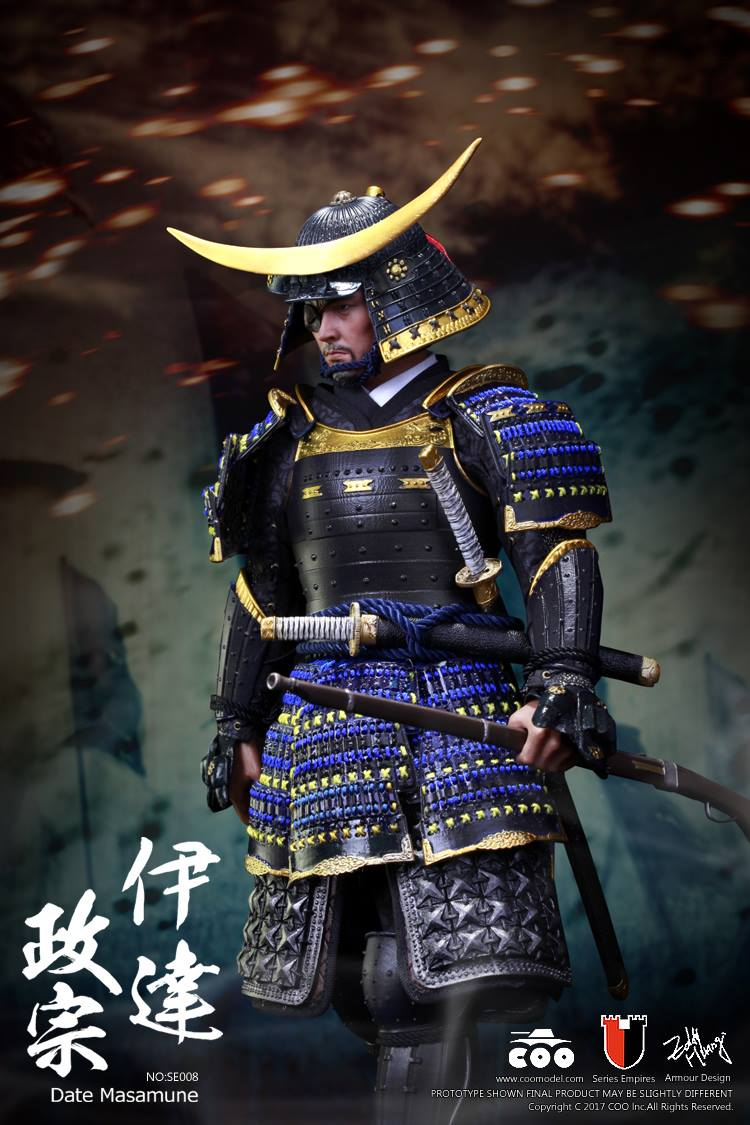 Toyhaven Coomodel 1 6th Scale Date Masamune Quot One Eyed Dragon Quot Collectible Figure Deluxe Edition