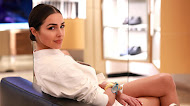 Model Olivia Culpo Smiling Hd Wallpaper