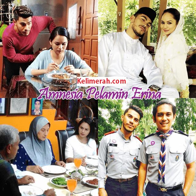 Telemovie Amnesia Pelamin Erina Lakonan Azrel Ismail, Izara Aishah