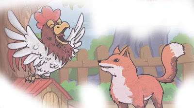 ayam jantan cerdik dan rubah licik