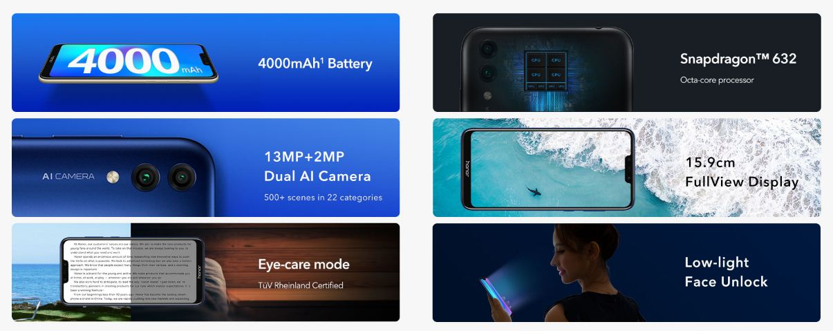 Honor 8C Indian Price - Full Specifications, Features » Desi