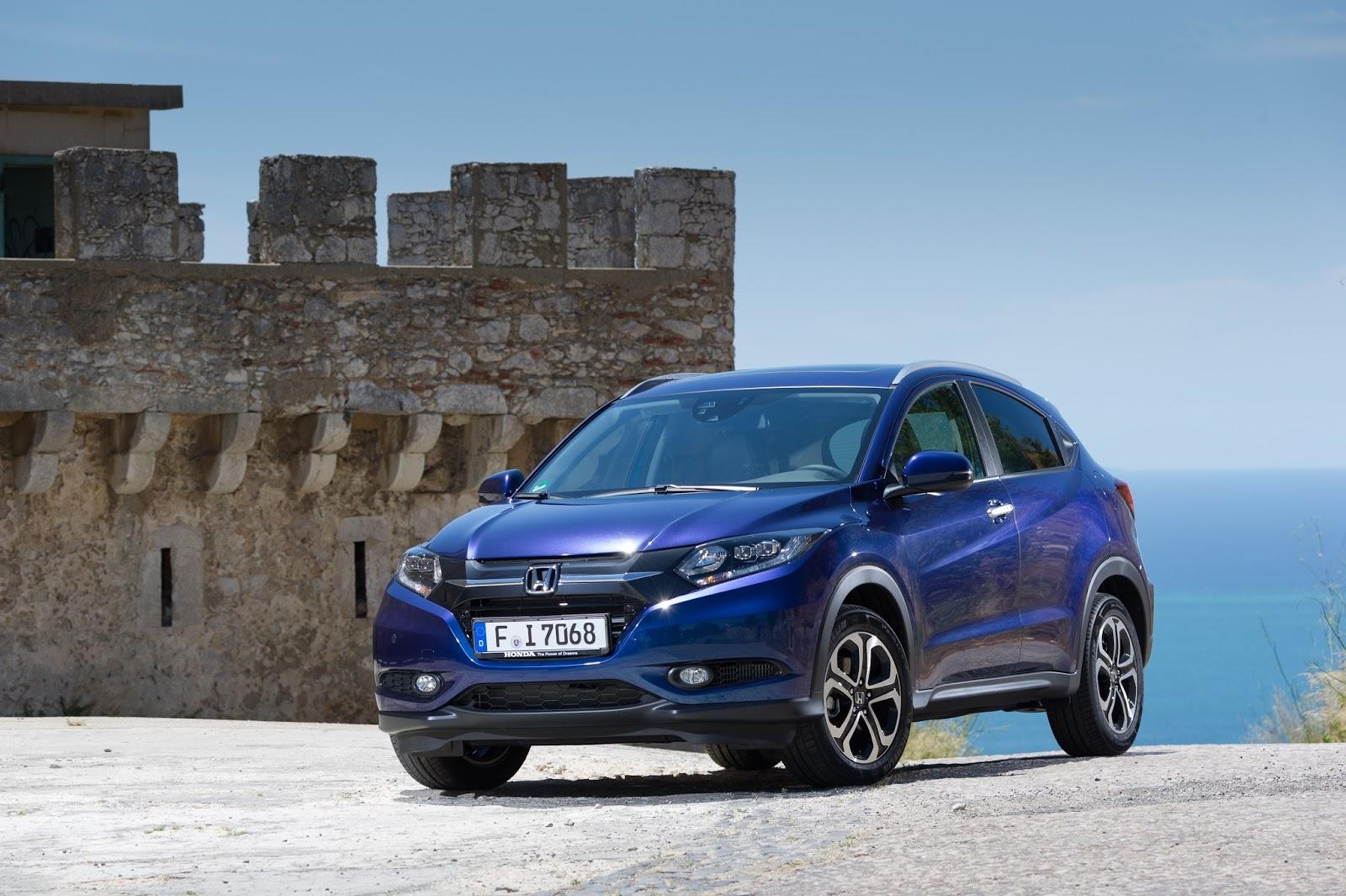 Honda HR V Ασφάλεια 5 αστέρων για τα νέα HR-V και Jazz Euro NCAP, Honda, Honda HR-V, Honda Jazz