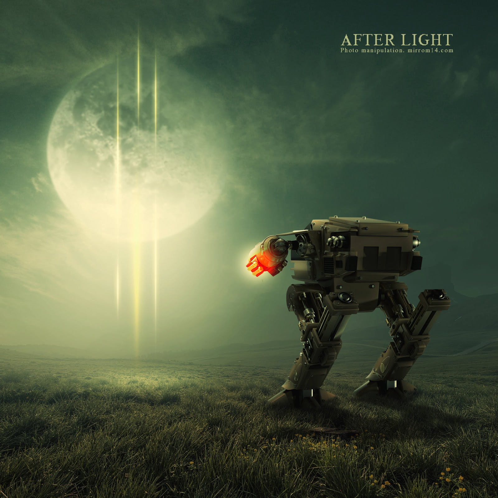 Advance Sci-Fi Photo Manipulation Tutorial - After Light