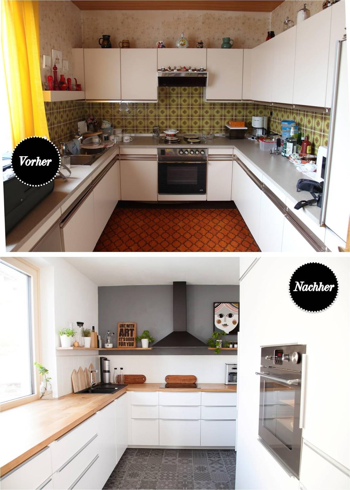 Küche Vorher Nachher | Beseelt Küche Renovieren Vorher Nachher ...