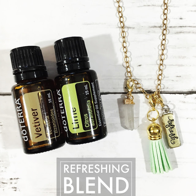 Essential Oil Refreshing Blend