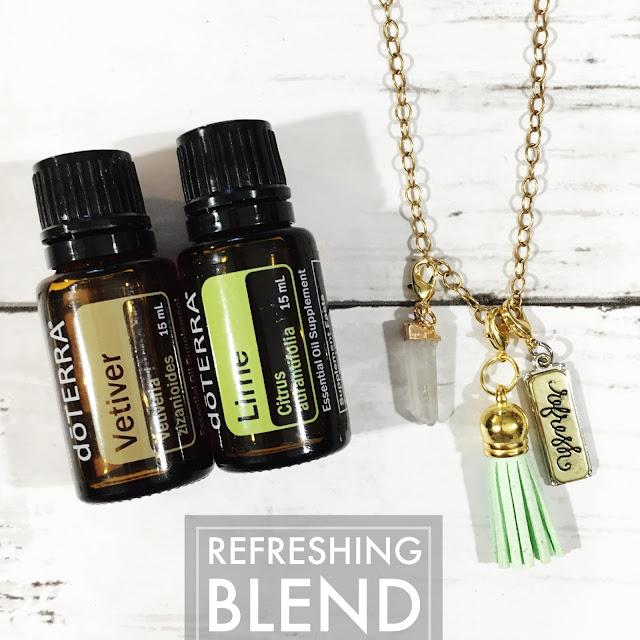 Essential Oil Refreshing Blend