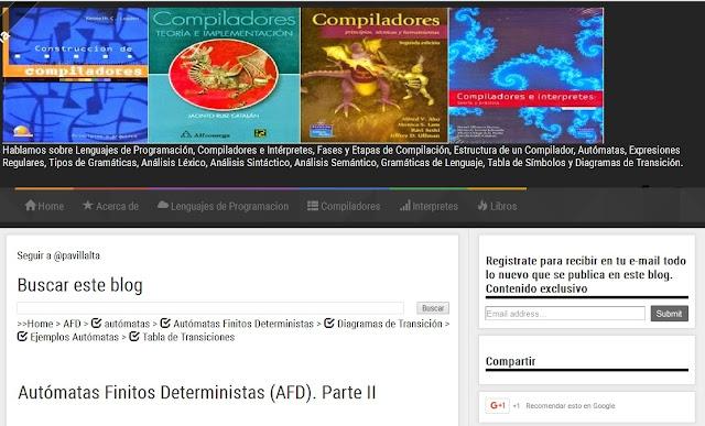 Blog de Lenguajes Compiladores y de Programación
