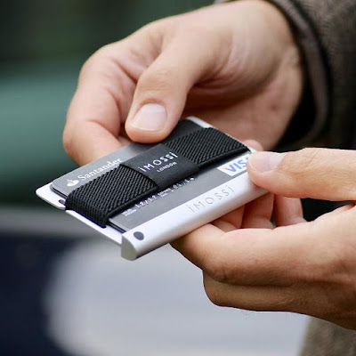 Imossi Silver RFID Wallet