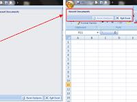 Cara Menyembunyikan Office Menu di Excel