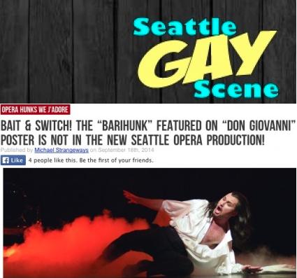BARIHUNKS ®: Seattle Gay Scene bemoans missing Mariusz