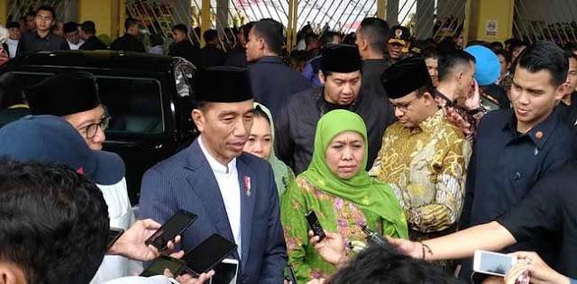 Di Harlah Muslimat NU, Jokowi Singgung Tentang Islam Moderat