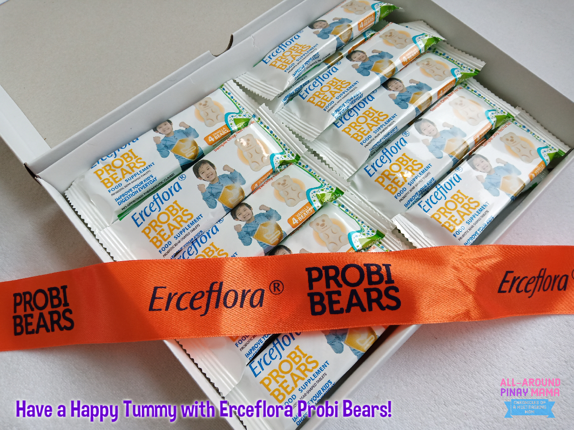 Have a Happy Tummy with Erceflora Probi Bears!   All-Around