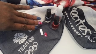 Union Jack Nails, Team GB Nail Art