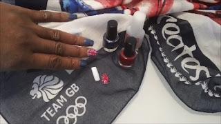Union Jack Nails, Team GB Nail Art