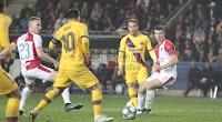 بهدفين لهدف فريق برشلونة يتغلب على نادي سلافيا براغ في الجولة الثالثه من دوري أبطال أوروبا