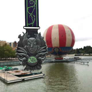 Disneyland Paris Magic Run 2018 Medaille 31K