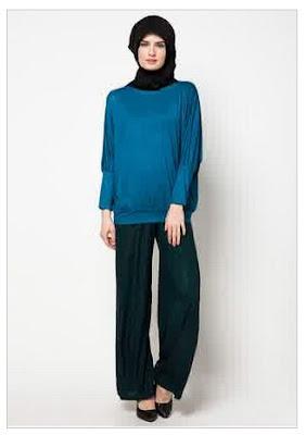 Model Baju Muslim Setelan Celana Panjang Terbaru