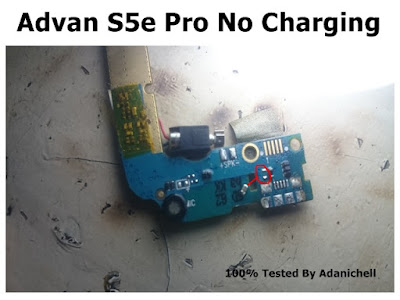 Advan S5e Pro No Charging