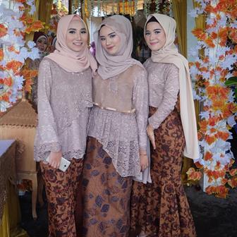 Model Kebaya Jilbab Modern Untuk Muda Mudi