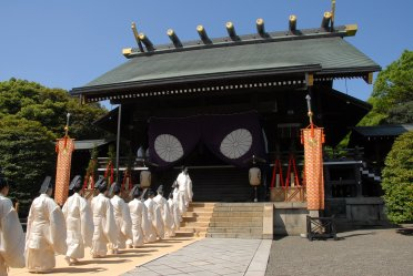 Yasukuni-jinja Shunki Reitaisai, Chiyoda-ku, Tokyo