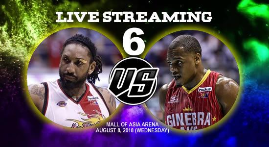Live Streaming List: SMB vs Ginebra 2018 PBA Commissioner's Cup Game 6