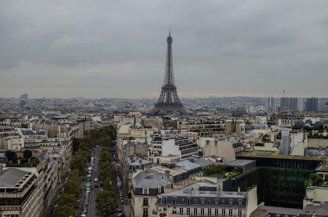 Tour Eiffel, Arc de Triomphe