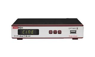 Cinebox Optimo X Dual Core Atualização - 21/09/2018