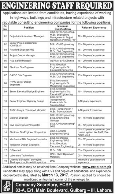 Civil Engineering Companies : Civil engineering jobs in consultancy services