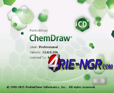 ChemDraw Professional 15.0.0 Full Serial Key