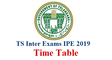 Telangana Board of Intermediate Education Released TS Inter First Year and Second Year 2019 Exams Time Table ts inter 2019 exams time table,ts inter exams 2019 time table,ts inter public exams 2019 time table,ts inter first year exams march 2019 time table,ts inter second  TS Inter 2nd Year Exam Timetable 2019 Manabadi: Every Year TSBIE.GOV.IN will Release the TS Intermediate Second Year Time table Telangana Inter 1st and 2nd Year Time Tables 2019 – All the students of Telangana are eagerly waiting for the Telangana Inter 2nd year Time Table 2019. TS Inter 2nd Year Exam Timetable 2019 Manabadi: Every Year TSBIE.GOV.IN will Release the TS Intermediate Second Year Time table telangana-ts-inter-exams-ipe-2019-time-tabale-manabadi.com-download
