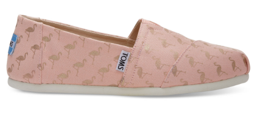 Toms flamingo shoes