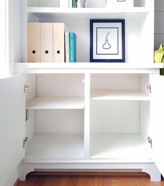 how to build base cabinets - built-in unit