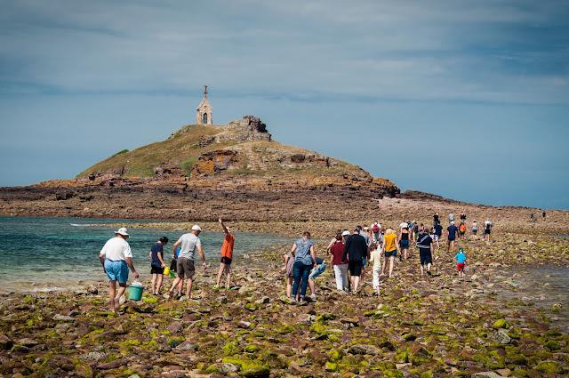 Bretania z dzieckiem opinie porady plaże widoki mini mont saint michel erquay