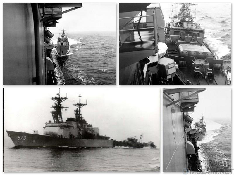 Столкновение кораблей ВМС США и СССР в Чёрном море