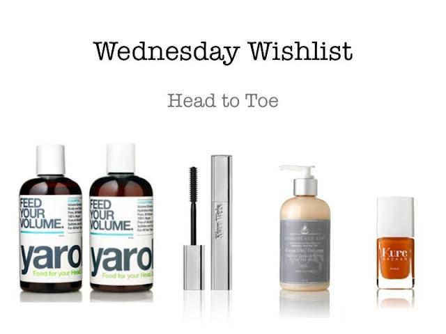 Wednesday Wishlist: Head to Toe