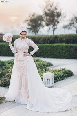 مجموعة من افخم فساتين الزفاف والسواريه لمصمم الازياء احمد رجب